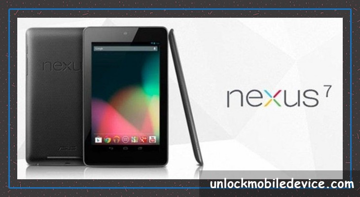 Unlock nexus 7 tablet